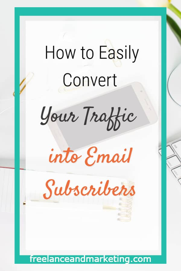 Convert your traffic into email subscribers by optimizing your website to catch your leads. Strategically place your optins to convert traffic. Make it easy for your website traffic to optin into your email list by having popups & other lead generation tools throughout your website. #Growyouremaillist #leadgeneration #emailsubscriptionpopup #emailsubscriptionforblog #emaillistgrowth