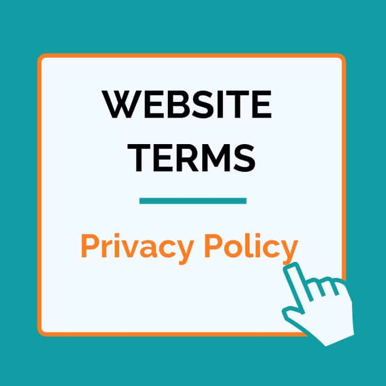 legal templates for the website. This is a privacy policy