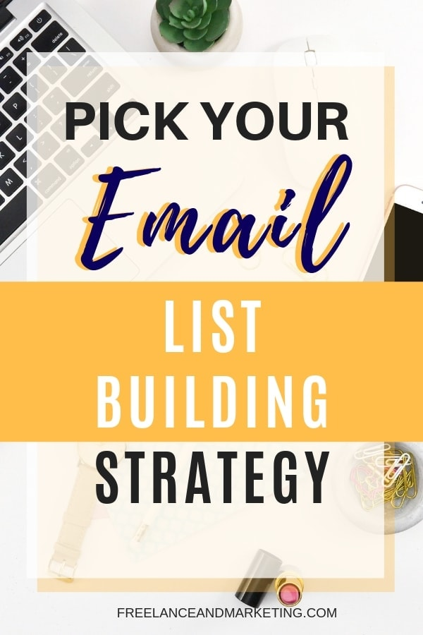 Email list building strategies vary depending on your financial ability, your time and goals. If you can invest money, then paid ads will work wonders for you, and your list will grow in no time. If you don\'t want ads, then you have to grow your list organically. Learn some of my favorite email list building methods. #emaillistgrowth #emailmarketing #emailsubscriber #bloggingtips #leadgeneration