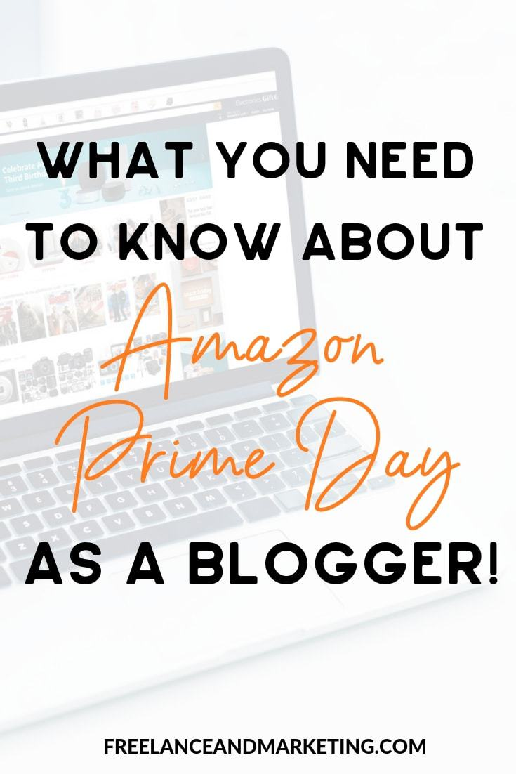 Amazon Prime Day is an important day for bloggers. You can make money from Amazon as an Amazon affiliate. Learn how to keep an eye for deals and how to make money from Amazon. #amazonaffiliate #affiliatemarketing #blog #makemoneyblogging
