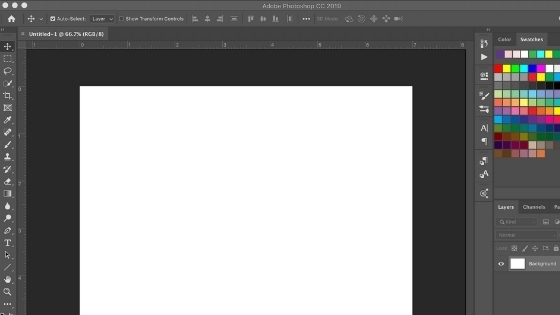 This is a screenshot of Photoshop screen for canva vs. photoshop review post.