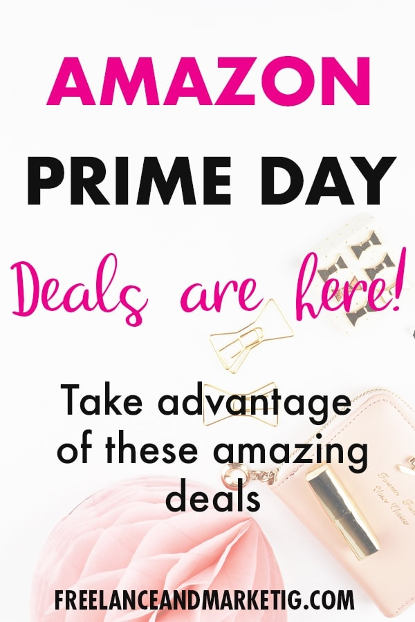 Amazon prime day is here with amazing deals. Get your necessary products and services for great prices. #amazon #primeday #primedaydeals #bloggergifts #entrepreneurgifts