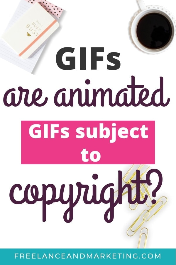 If you\'re using animated GIFs, then you must know that they are subject to copyright laws. There are certain rules that you must follow to avoid copyright violation and liability. To be safe from lawsuits, as a blogger, you should aim to keep your use of GIFs to fair use. #copyrightlaw #copyright #animatedgif #GIFs #bloggingtips #legaltips #bloglegally