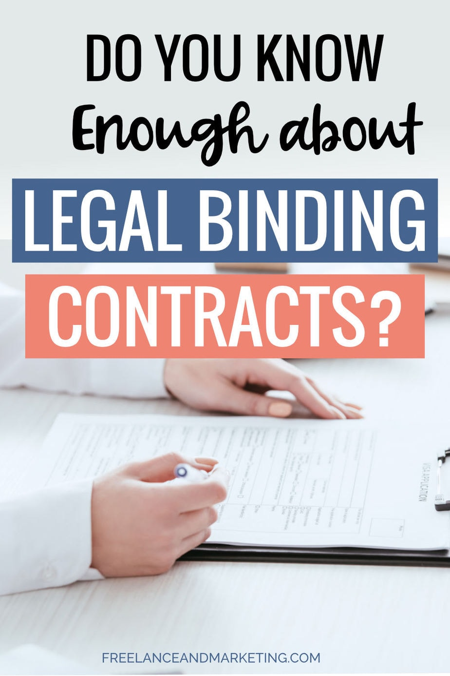 As a small business owner or entrepreneur, you must know what a legal binding contract is. You should learn the necessary elements to form a valid contract that is enforceable in court. Protect your small business or online venture from trouble. Create contracts with other parties that are fair and safe for you and everyone else involved. #smallbusiness #entrepreneur #contract #validcontract #legalbindingcontract #businessowner #business