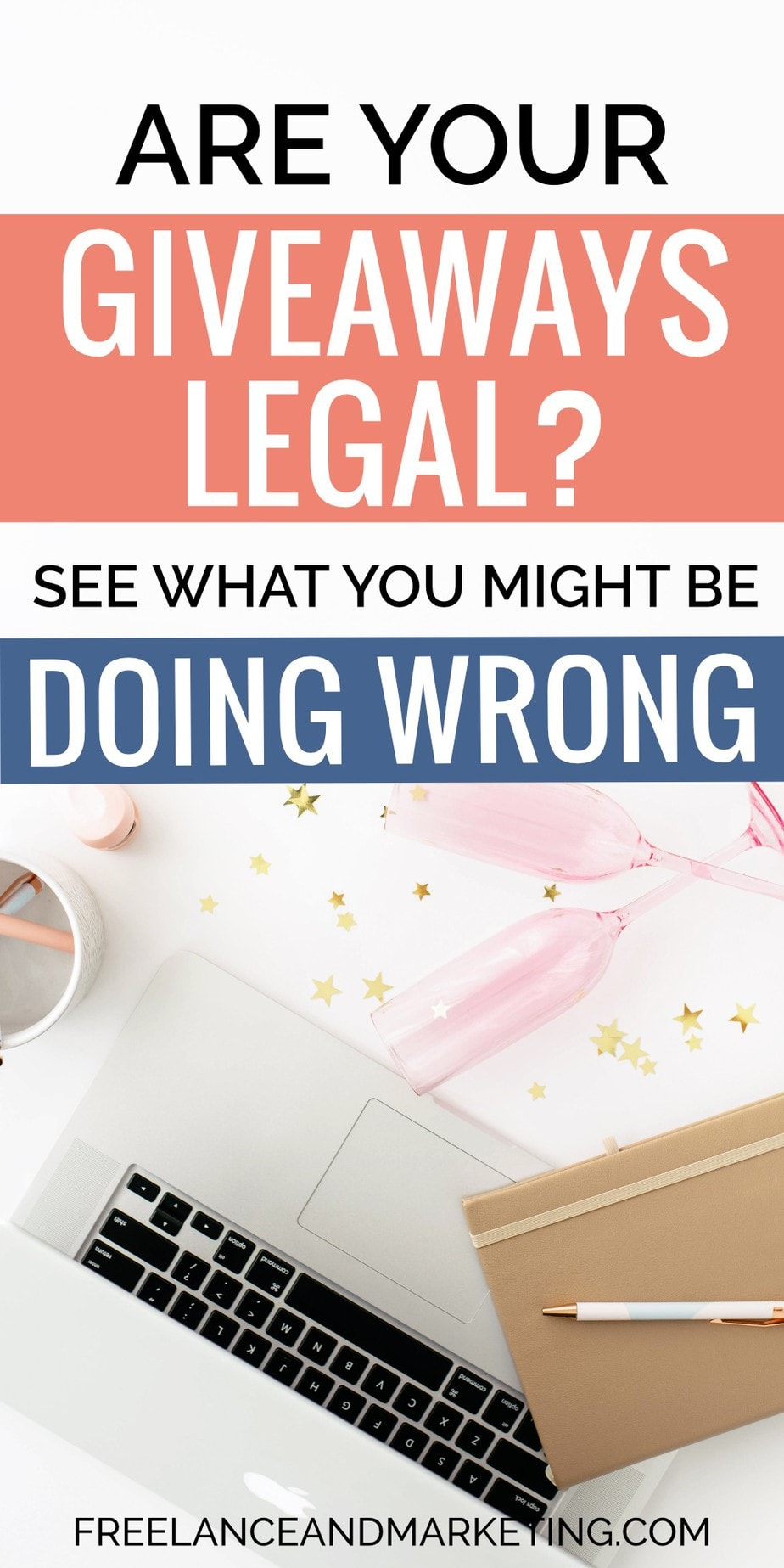 Find out what are the rules for doing legal giveaways and contests, sweepstakes for Facebook, Instagram and your website overall. Legal giveaway rules and regulations for bloggers, entrepreneurs, and small businesses. Learn how to conduct giveaways to grow your social media accounts and your email lists. #legalgiveaway #giveawaysandcontests #sweepstakerules #legalsweepstakes #blogginggiveaway #facebookgiveaway #instagramgiveaway