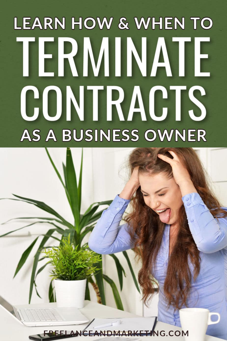 Knowing how and when to terminate your contracts is just as important as knowing how to form contracts. There are various grounds under which you can terminate a contract and make it void. Some of those grounds are unenforceability, natural disasters, mootness, etc. Learn how to terminate a contract and when is it a good idea to do so. #terminatingcontracts #contracttermination #terminationofcontract #bloglegally #smallbusinessowner #smallbusiness #entrepreneur #legaltips